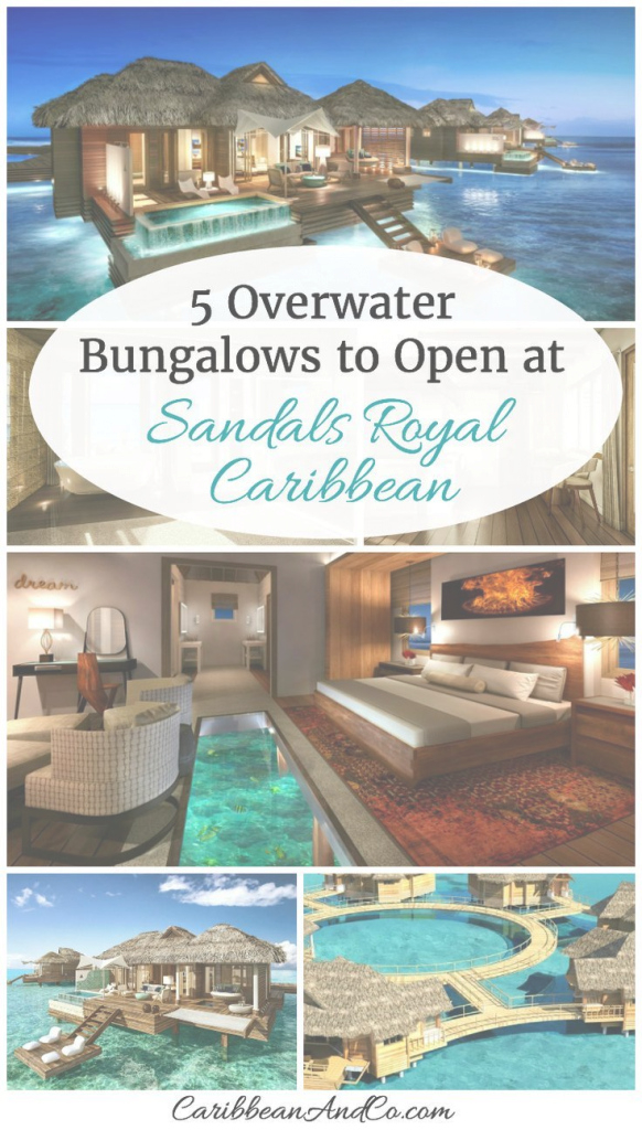 Glamorous 5 Overwater Bungalows To Open At Sandals Royal Caribbean | Pinterest with Fresh Jamaica Overwater Bungalows