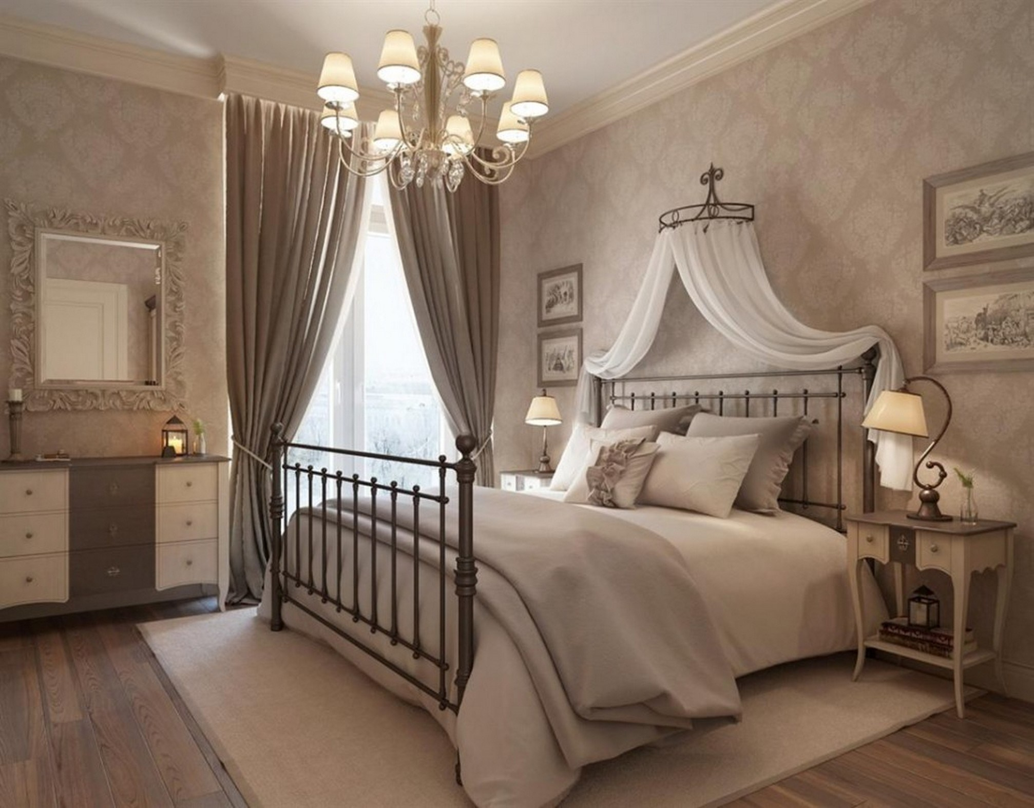 Glamorous 5 Stylish Vintage Bedroom Ideas - This Lady Blogs within Vintage Bedroom