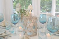 Glamorous A Beach Themed Table Setting Scheme Of Beach Themed Kitchen Decor with Beach Themed Kitchen Decor