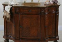 Glamorous Afd Hyde Park 48 Inch Vintage Vanity Bathroom Vanity with Best of Furniture Style Bathroom Vanities