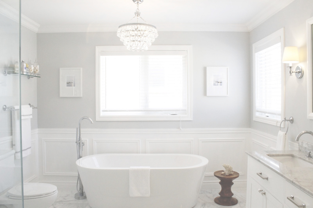 Glamorous Amazing Of White Master Bathroom Paint Color Ideas At Bat #2919 with regard to Awesome Bathroom Paint Color Ideas