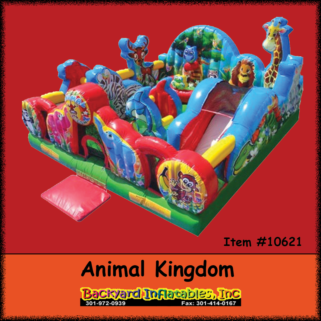Glamorous Animal Kingdom - Backyard Inflatables pertaining to Backyard Inflatables