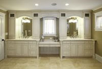 Glamorous Astonishing Master Bathroom Vanities Vanity With Makeup Area for High Quality Master Bathroom Vanity