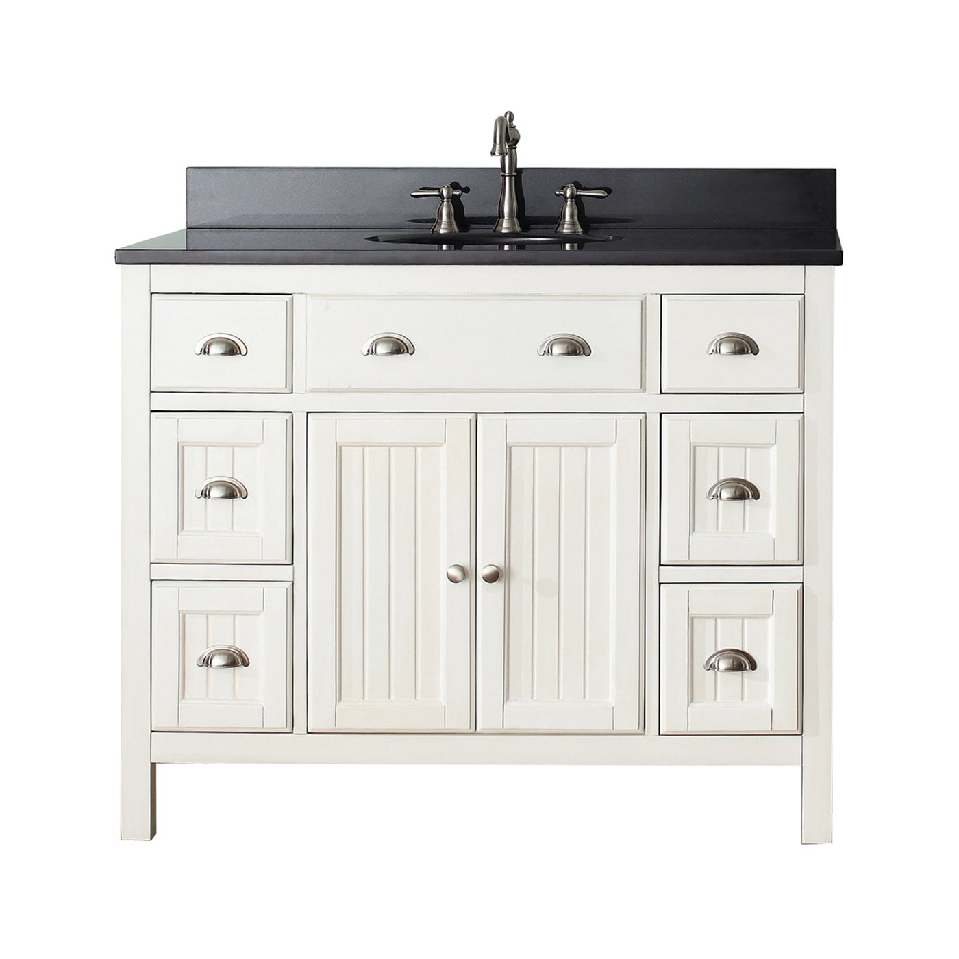 Glamorous Avanity Hamilton 42-In Bathroom Vanity Combo | Lowe's Canada with regard to 42 Inch Bathroom Vanity Combo
