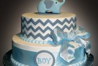 Glamorous Baby Shower Cakes – Sweet Somethings Desserts within Baby Boy Shower Cakes