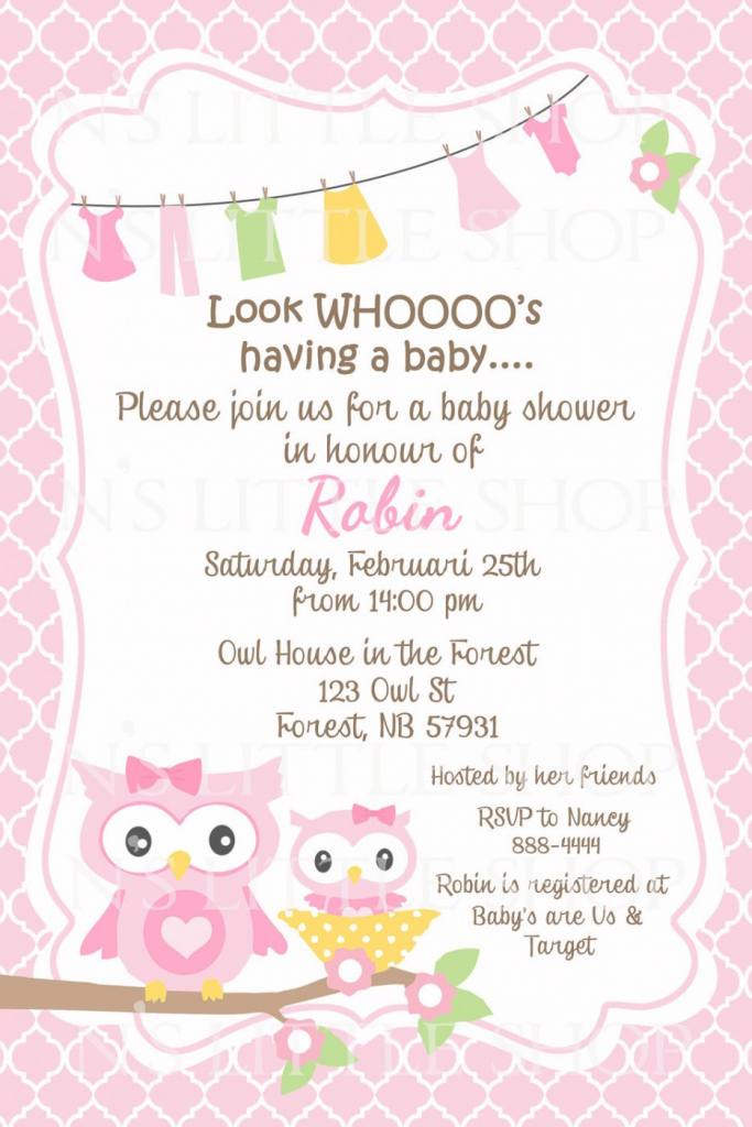 Glamorous Baby Shower Card Messages For Girl Best Of Baby Shower Baby Shower intended for Baby Shower Cards