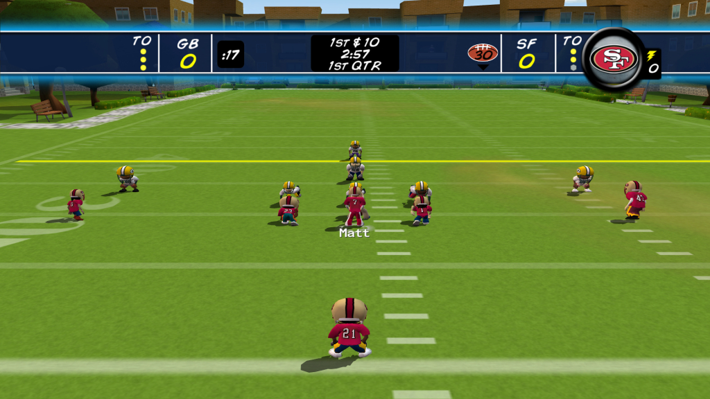 Glamorous Backyard Football '10 For Microsoft Xbox 360 - The Video Games Museum in Backyard Football Game