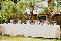 Glamorous Backyard Wedding Ideas Nighttime And Tropical Backyard – Safe Home regarding Fresh How To Plan A Backyard Wedding