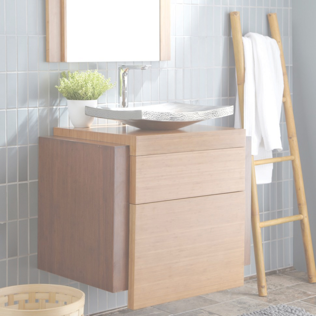 Glamorous Bathroom : Bamboo Bathroom Vanity Lovely Concept For Bathroom in Good quality Bamboo Bathroom Vanity
