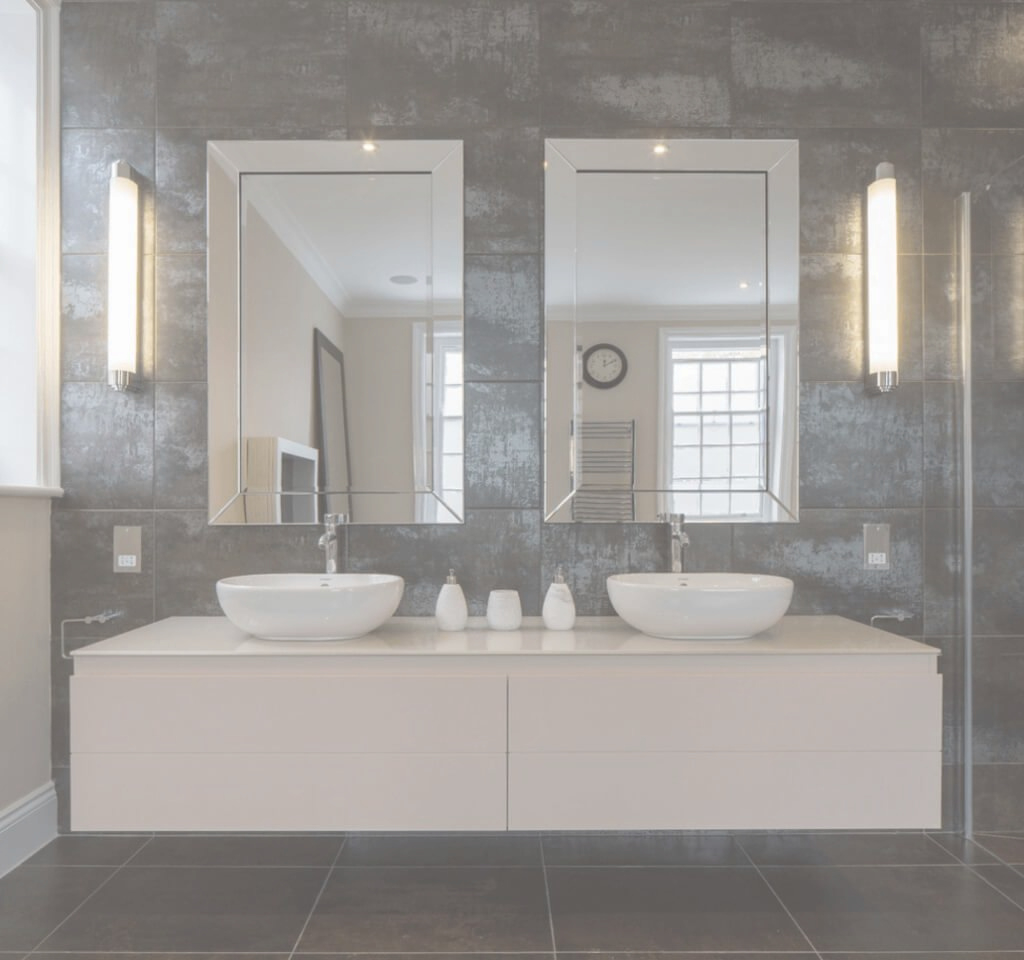 Glamorous Bathroom: French Country Bathroom Mirror With Vanity Cabinet Ideas with regard to Bathroom Mirror Ideas On Wall