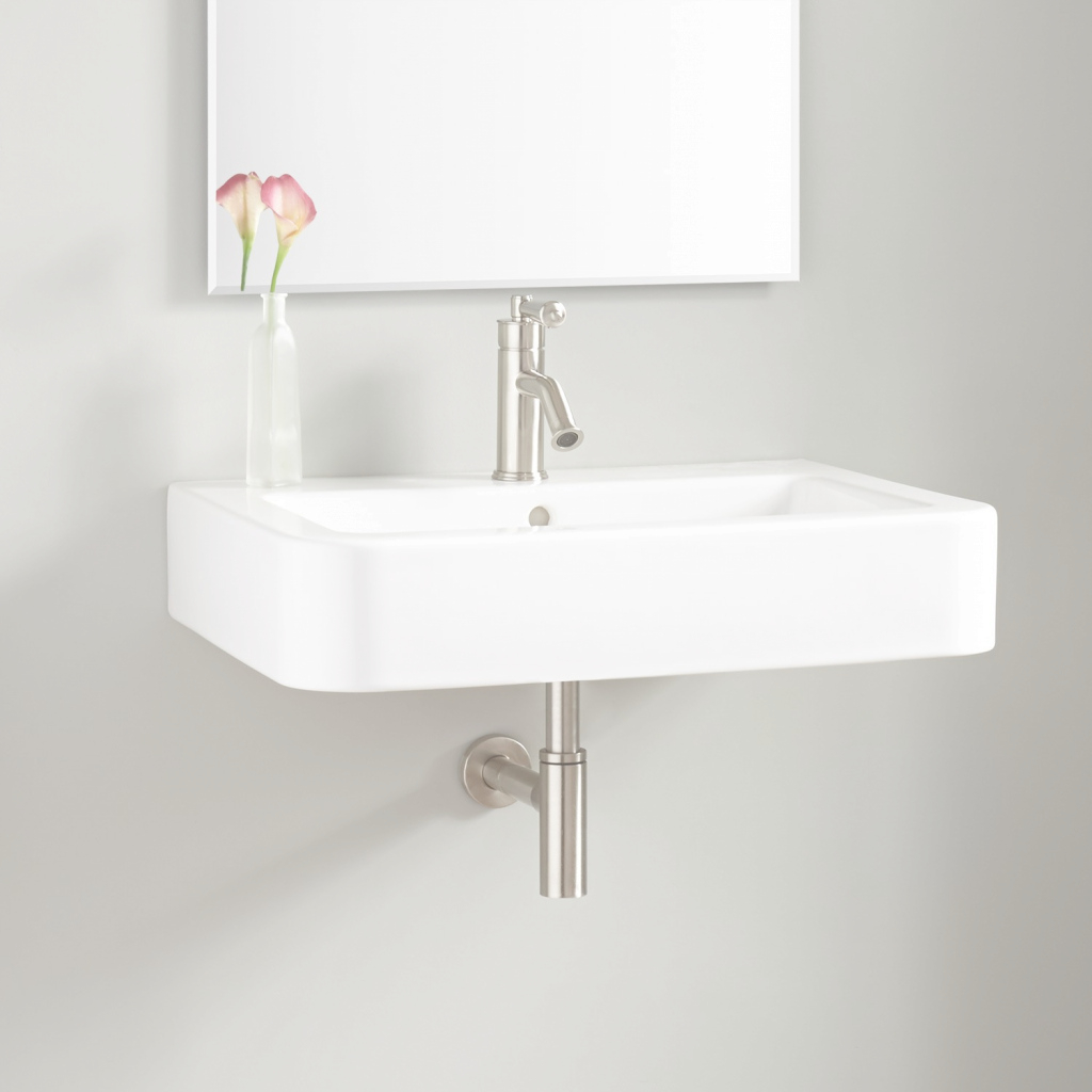 Glamorous Bathroom Sink : Wall Mount Bathroom Sink Height Wall Mount Bathroom for Unique Wall Mount Bathroom Sink