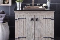 Glamorous Bathroom : Stunning Bathrooms Design Americana Reclaimed Bathroom throughout Barnwood Bathroom Vanity