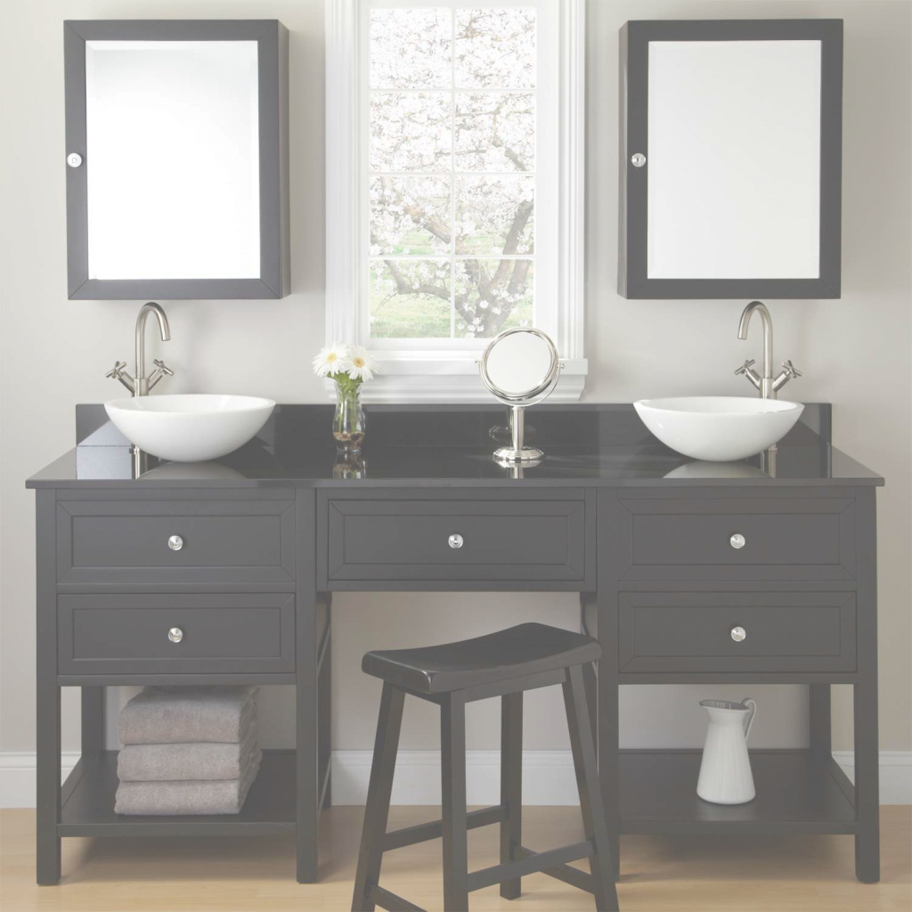 Glamorous Bathroom Vanities With Makeup Table Trends Images Coaster pertaining to Bathroom Vanity Set With Mirror