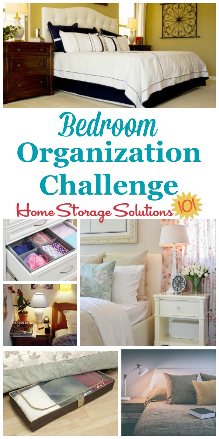 Glamorous Bedroom Organization Challenge: How To Make It A Haven throughout Unique How To Declutter Your Bedroom