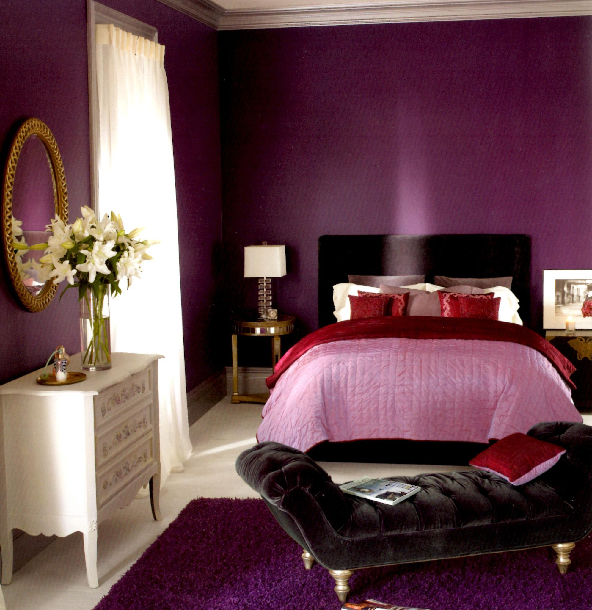Glamorous Bedroom : Small Living Room Paint Colors Ideas Tiny Wall Color within Small Bedroom Wall Colors