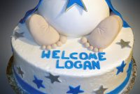 Glamorous Boy Baby Shower Cake – Sweet Somethings Desserts throughout Baby Boy Shower Cakes