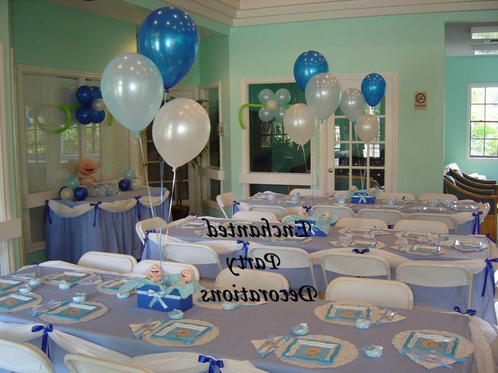 Glamorous Boy Baby Shower Table Decoration Ideas | Table Designed | Pinterest for Lovely Baby Shower Table Decorating Ideas