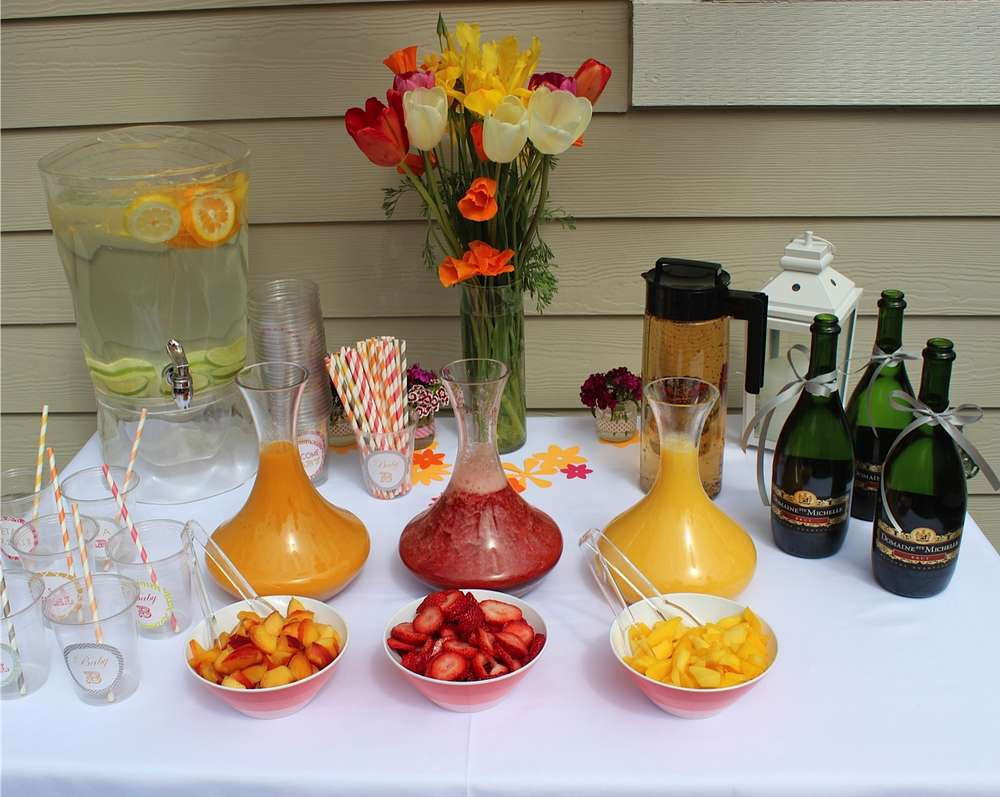 Glamorous Brunch Baby Shower Party Ideas | Photo 4 Of 8 | Catch My Party pertaining to Summer Baby Shower Ideas
