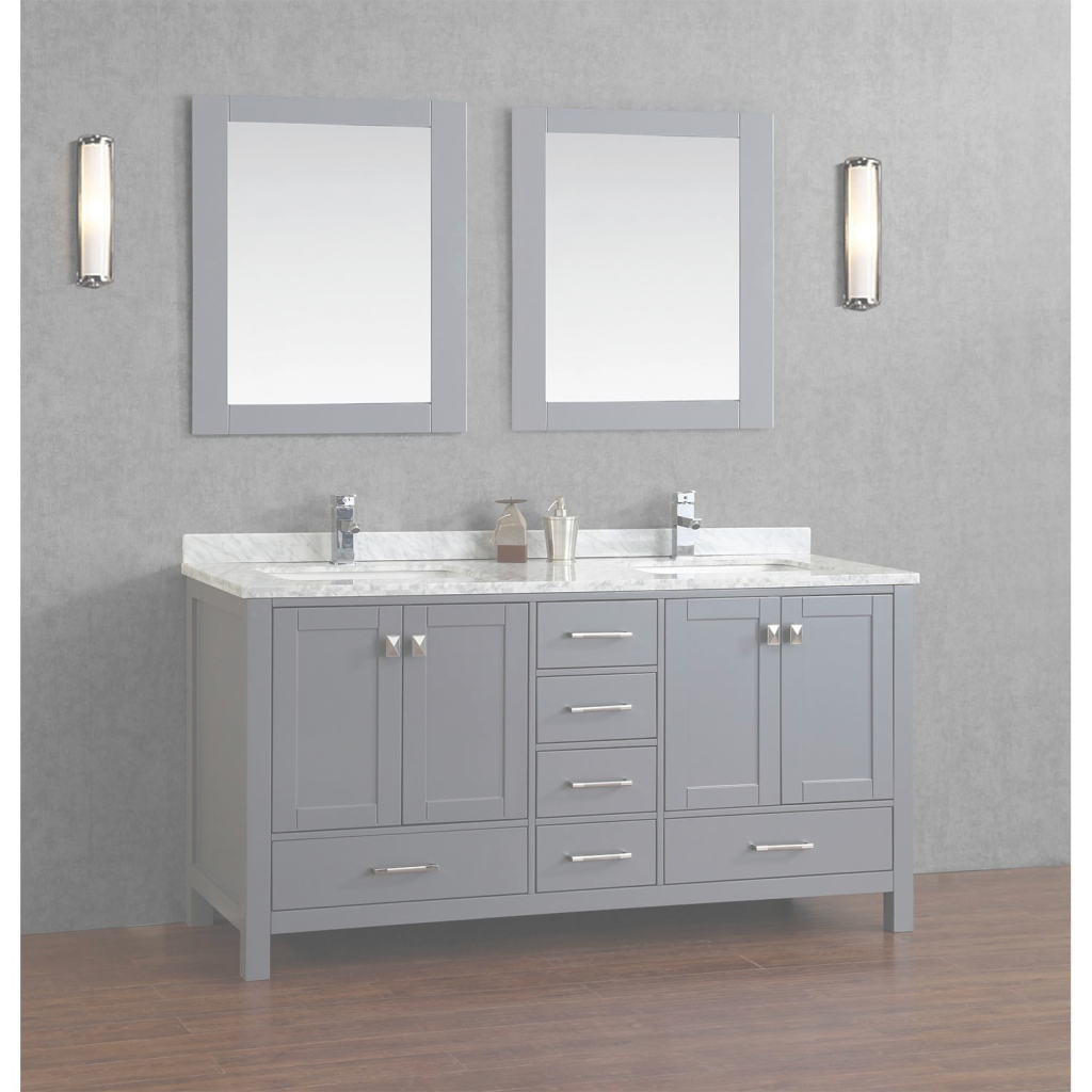 Glamorous Buy Vincent 72 Inch Solid Wood Double Bathroom Vanity In Charcoal intended for Lovely 72 Bathroom Vanities
