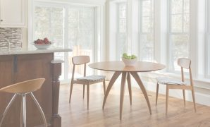 Glamorous Circle Furniture - Ella Dining Table | Modern Dining Table Ma for Ella Dining Room