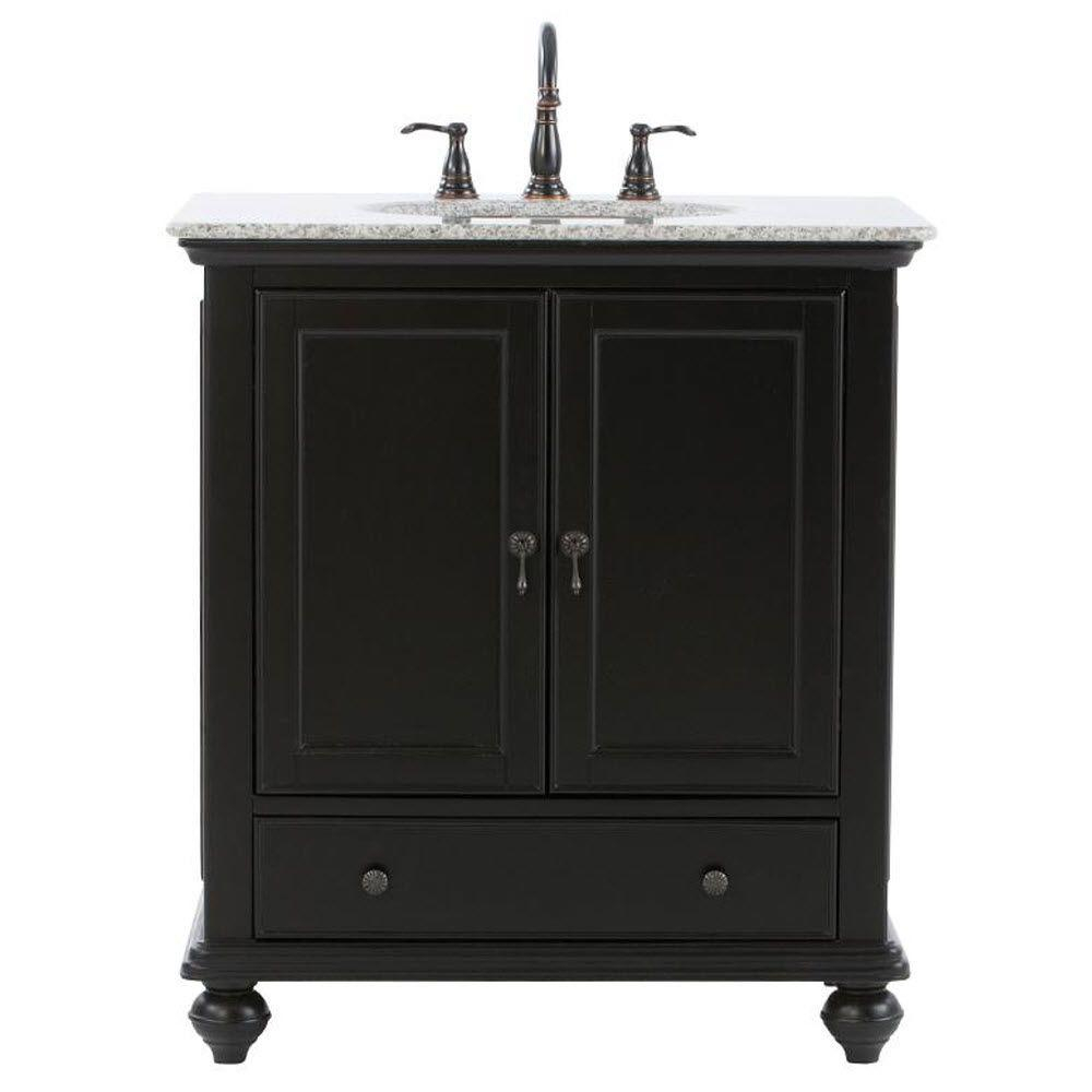 Glamorous Clearance - Vanities With Tops - Bathroom Vanities - The Home Depot throughout Home Depot Vanities For Bathrooms
