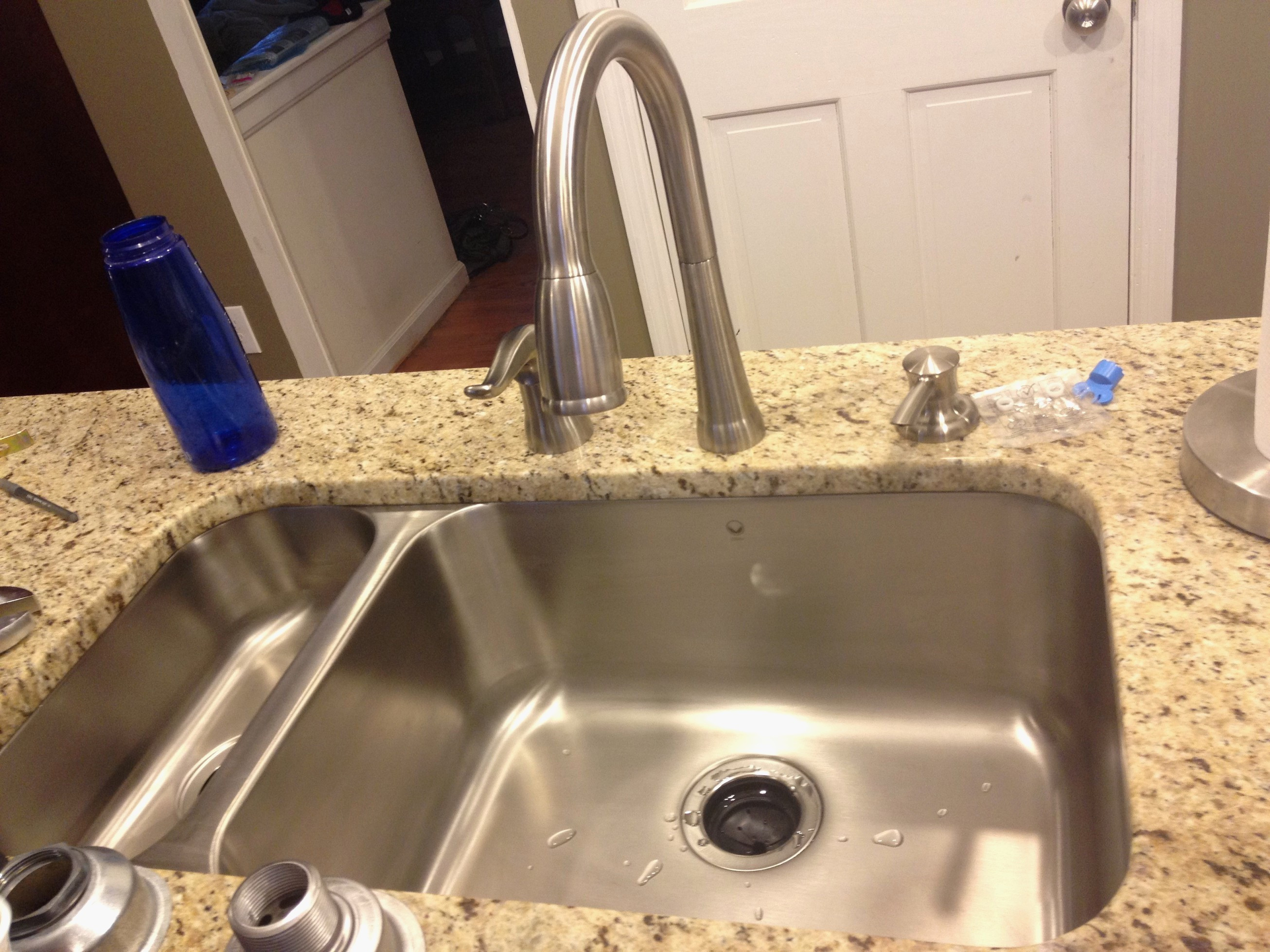 Glamorous Clogged Double Kitchen Sink Garbage Disposal Fresh 51 New Kitchen regarding How To Unclog A Double Kitchen Sink