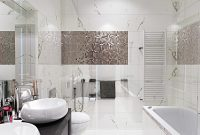 Glamorous Contemporary Bathroom Neutral Modern House – Crossair with regard to Good quality Neutral Bathroom Ideas