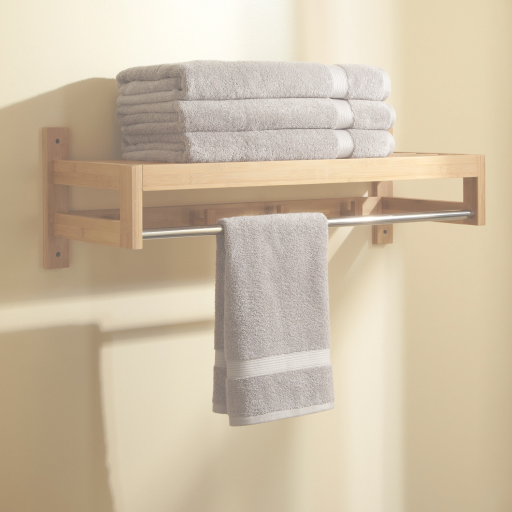 Glamorous Creative Of Ideas For Bathroom Towel Rack Ideas Design Bathroom intended for Set Bathroom Towel Holder Ideas