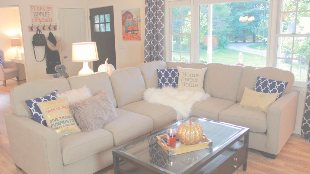 Glamorous Decorating My Living Room For Fall - Fall Living Room Tour - Youtube pertaining to New Design My Living Room