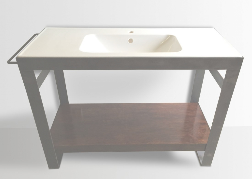 Glamorous Denver Colorado Industrial Modern Bathroom Vanity Washstand Sink throughout Bathroom Vanities Denver