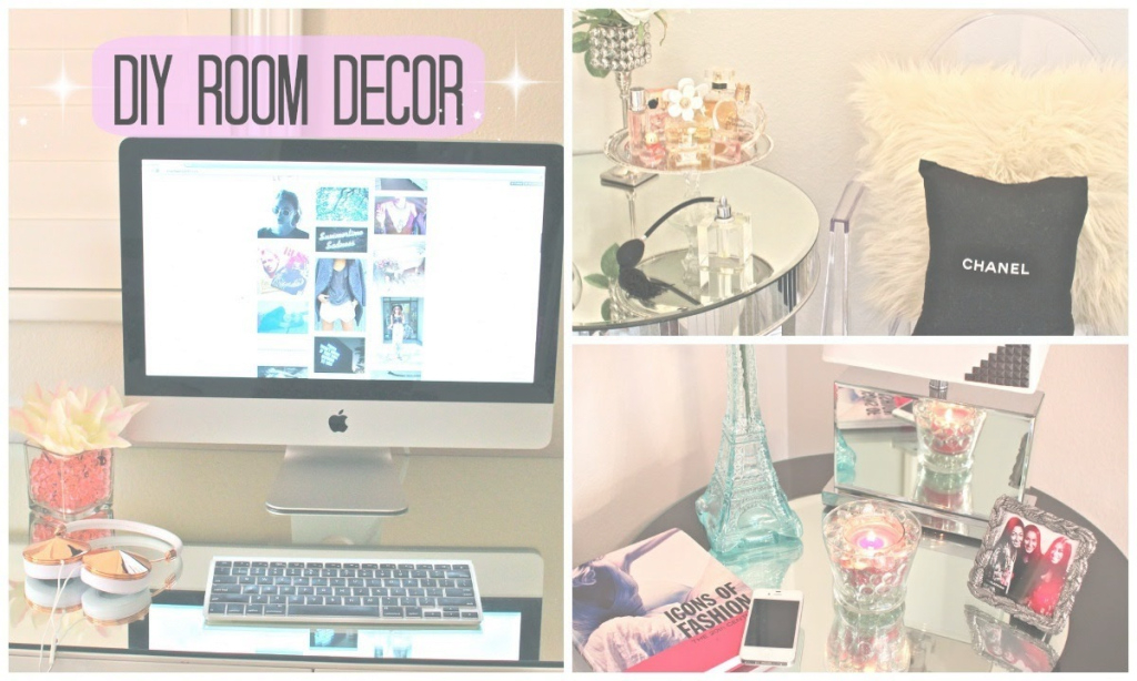 Glamorous Diy Room Decor! Cute & Affordable! - Youtube with Review Diy Bedroom Decor