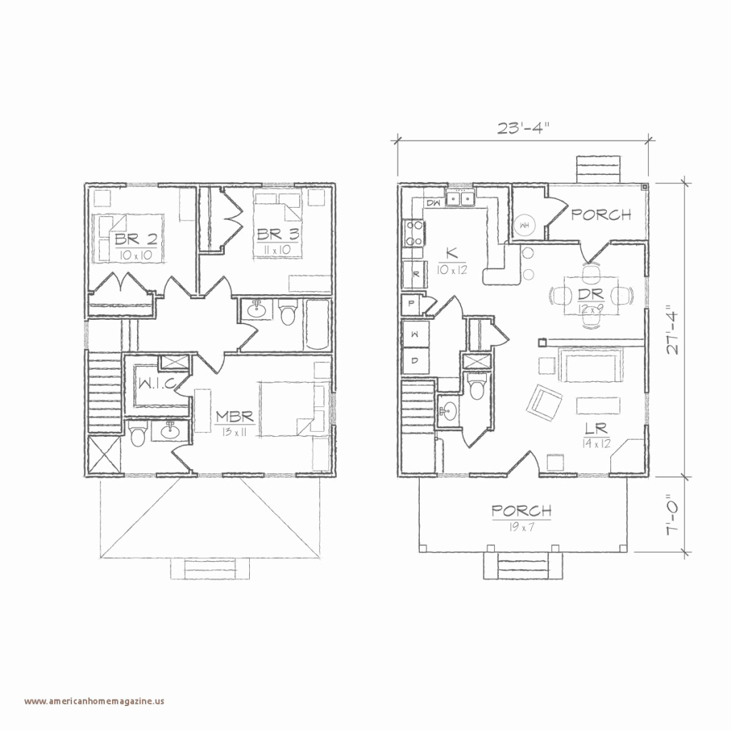 Glamorous Download 38 American Foursquare Floor Plans 1900 in American Foursquare Floor Plans Images