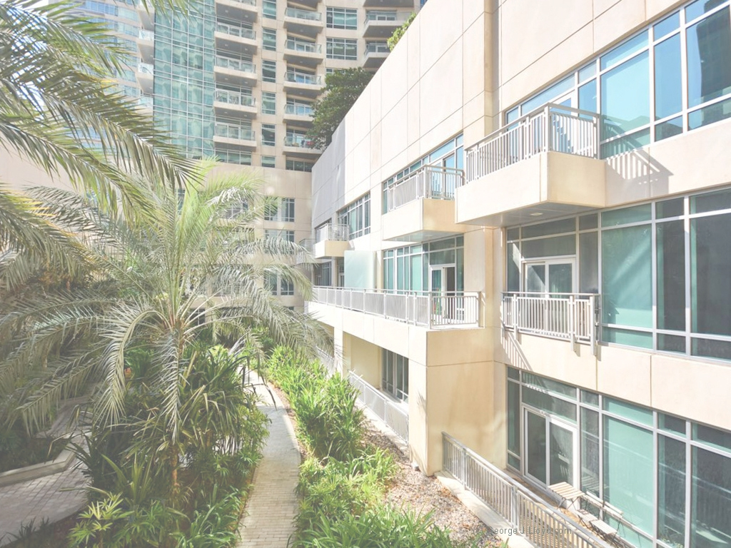 Glamorous Downtown Dubai, The Lofts, 1 Bedroom, Community View inside Bedroom Community