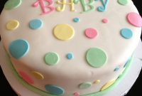 Glamorous Easy Baby Shower Cake Ideas | Unofficial Shot Of The Cake I Caught throughout New Baby Shower Cake Recipes