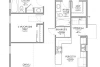 Glamorous Exquisite 3 Bedroom House Plans No Garage 27 Cottage Or throughout Beautiful Small Three Bedroom House Plans