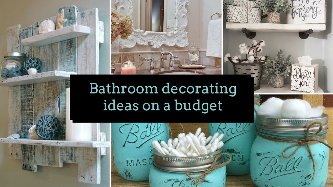 Glamorous ? Diy Bathroom Decorating Ideas On A Budget ?| Home Decor with regard to Bathroom Ideas Decor