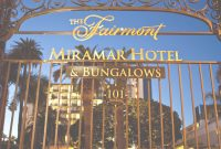 Glamorous Fairmont Miramar Hotel & Bungalows, Santa Monica: Fairmont Moments intended for Review Santa Monica Bungalow