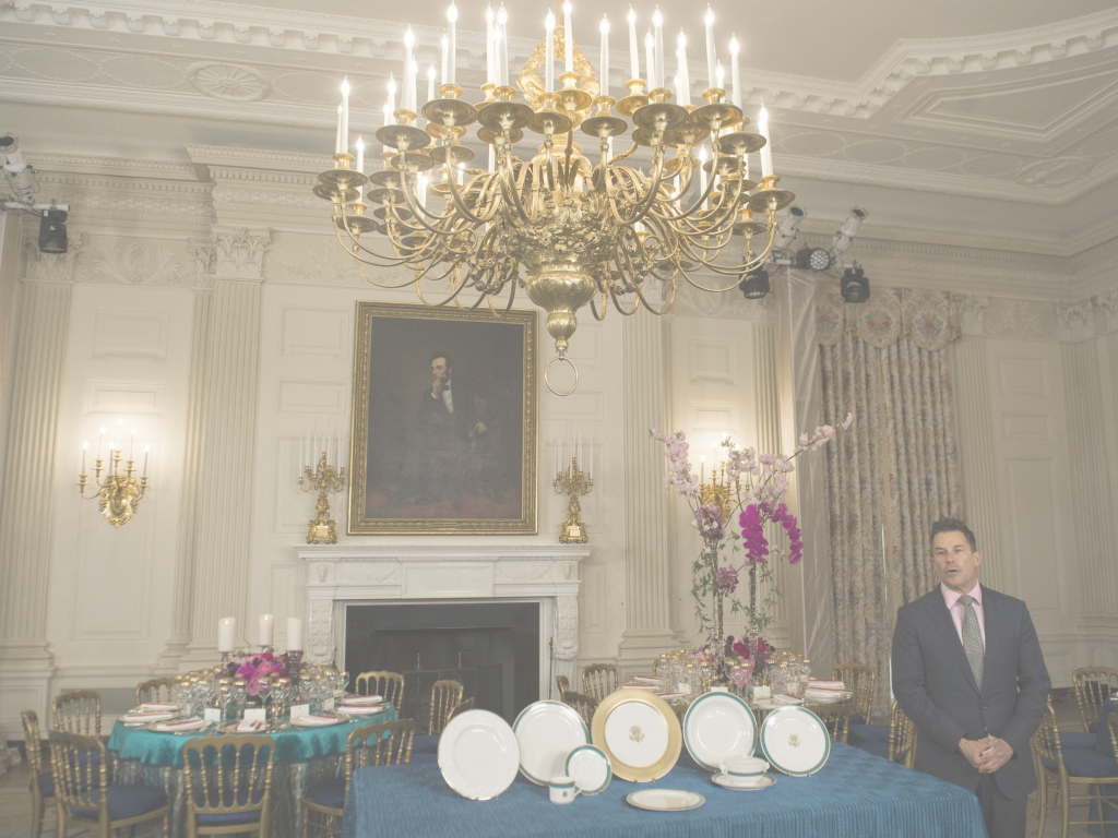 Glamorous Former White House Social Secretaries On The Value Of 'treating pertaining to White House State Dining Room