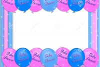 Glamorous Free Baby Borders For Word Documents – Acur.lunamedia.co intended for Unique Baby Shower Borders