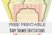 Glamorous Free Baby Shower Invites – Frugal Fanatic regarding Free Baby Shower Invitations