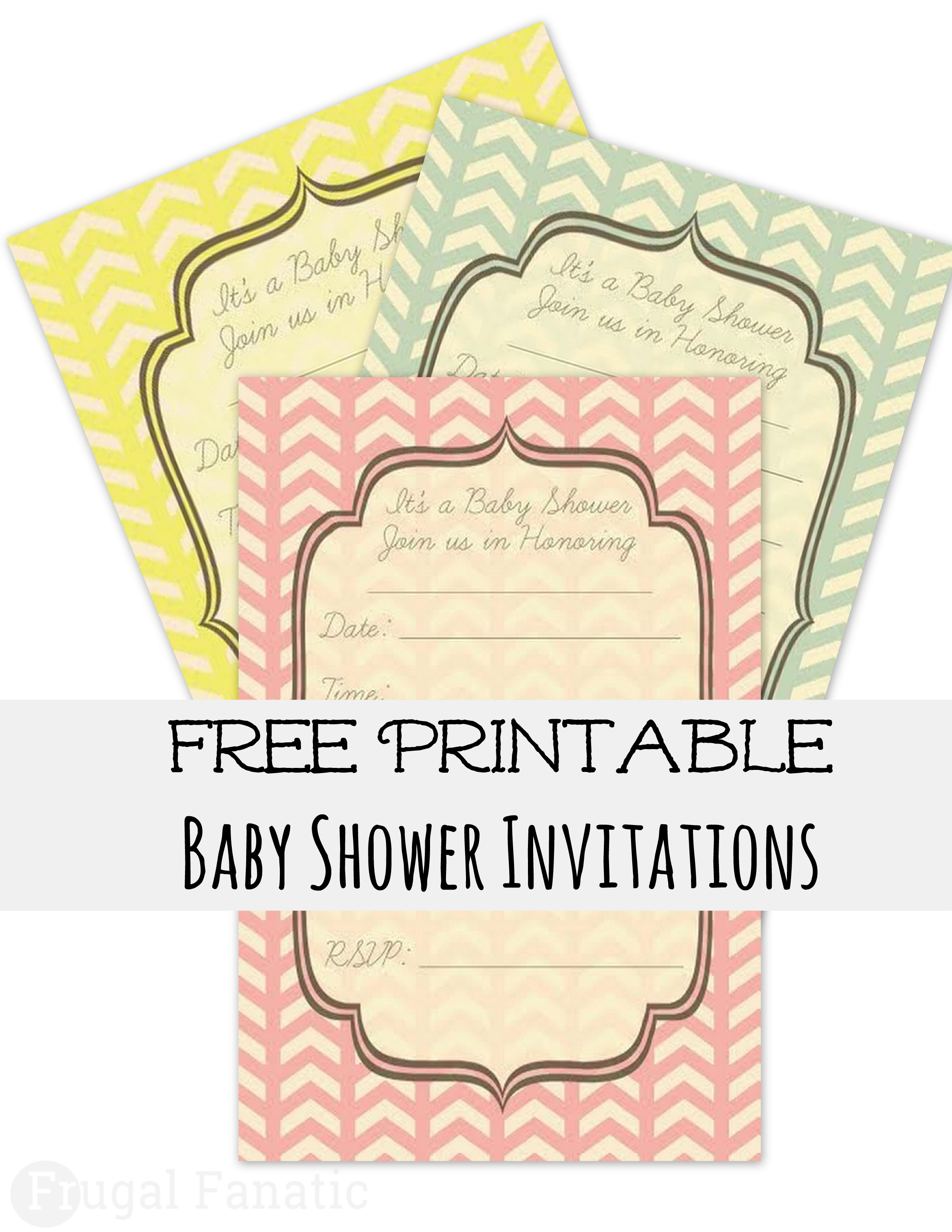 Glamorous Free Baby Shower Invites - Frugal Fanatic regarding Free Baby Shower Invitations