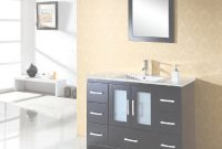 Glamorous Free Standing Single Sink Bathroom Vanity Sets X-025 – Aqua Gallery regarding Unique Free Standing Bathroom Vanity