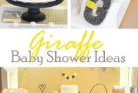 Glamorous Giraffe Baby Shower Ideas pertaining to Giraffe Themed Baby Shower