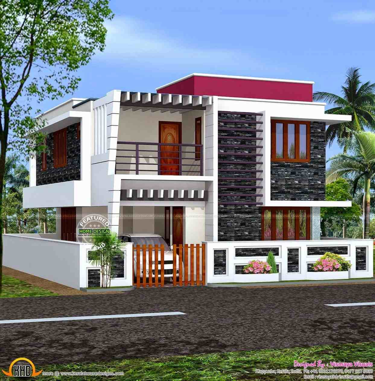 Glamorous Good Looking Home Exterior Design Indian Style New In Painting intended for Awesome Indian Home Exterior Design