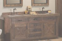 Glamorous Good Rustic Bathroom Vanities — Lindsay Decor : Distinctive And with Bathroom Vanity Rustic