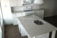 Glamorous Granite Countertops – No Backsplash for Beautiful Kitchen Without Backsplash