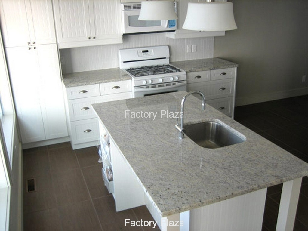 Glamorous Granite Countertops - No Backsplash for Beautiful Kitchen Without Backsplash