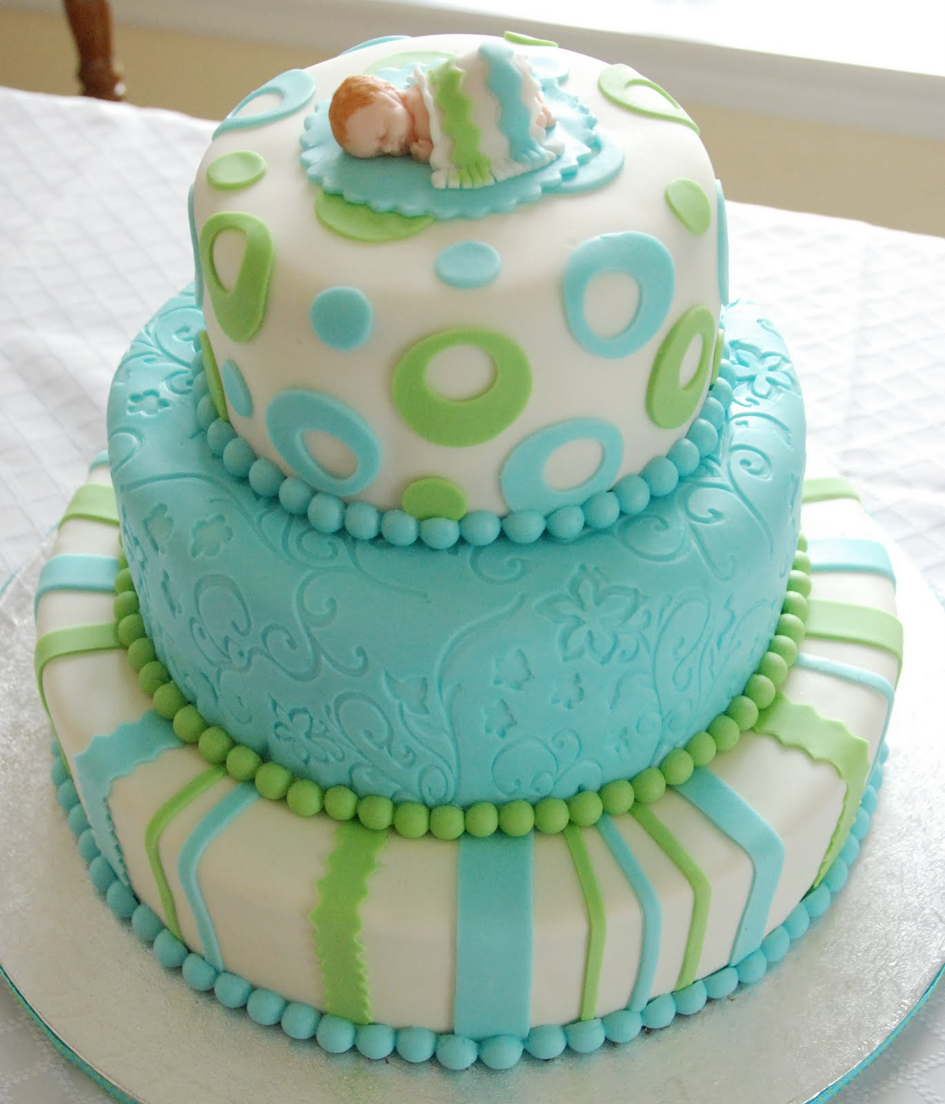 Glamorous Green And Blue Baby Shower | Baby Interior Design intended for Beautiful Blue And Green Baby Shower