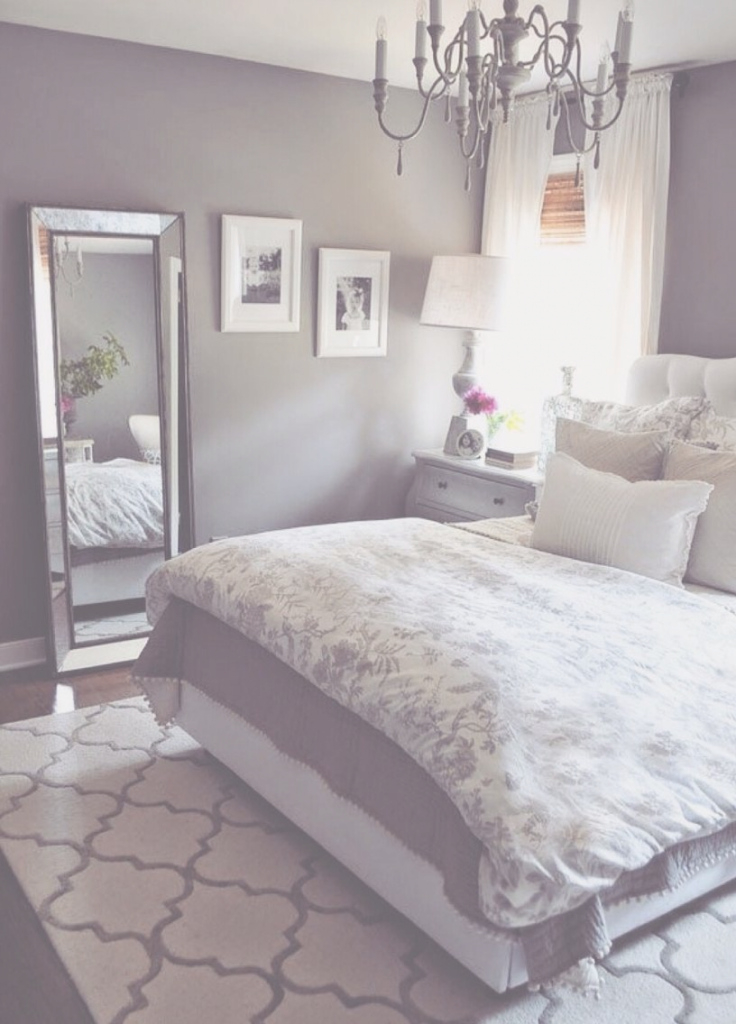 Glamorous Grey Bedroom - Soft Soothing Purple Tint | Home <3 | Pinterest for New Grey Bedroom