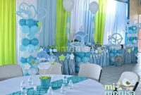 Glamorous Hermoso Baby Shower Con El Tema De Una Ballenita, Colores Azúl throughout Unique Decoracion De Baby Shower De Niño